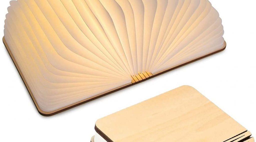 Une lampes livres original pour votre salon